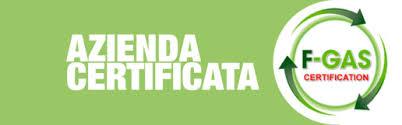 Centro Clima di Menegaldo Fabio dispone dell'attestato F-GAS